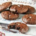 Galletas de chocolate {sin gluten ni lactosa}