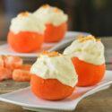 Helado de mandarinas