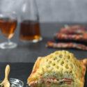 Hojaldre con salmon, arroz y huevo {con y sin gluten}