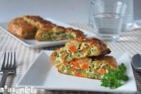 Hojaldre de verduras con queso
