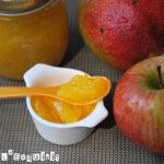 Mermelada de mango y manzana