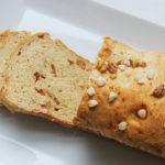 Pan azucarado con nueces
