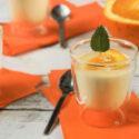 Pannacotta de naranja