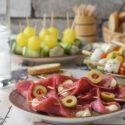 Pinchos de salami