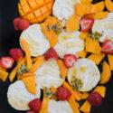 Semifrio de mango y coco