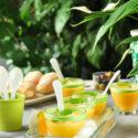 Sopa de melon con albahaca