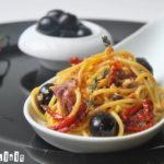 Spaguetti puttanesca