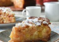 Tarta de manzana y crumble (con y sin gluten)
