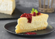 Tarta de queso fresco al limón