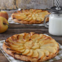 Tarta fina de manzanas