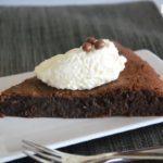 Tarta de chocolate {sin gluten}